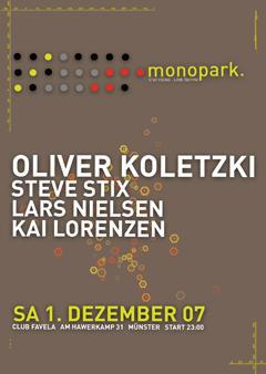 2007-12-01 - Oliver Koletzki @ Monopark, Club Favela, Münster.jpg
