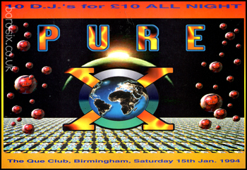 1994-01-15 - Pure X, The Que Club, Birmingham.jpg