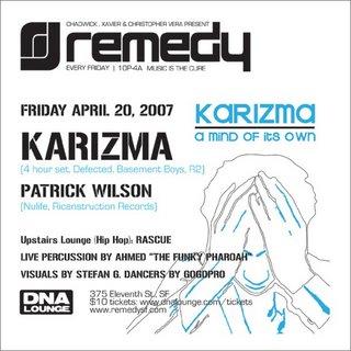 2007-04-20 - Karizma, Patrick Wilson & Ahmed - Remedy @ DNA Lounge, San Francisco.jpg