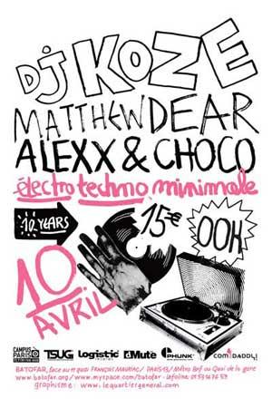2009-04-10 - DJ Koze, Matthew Dear, Alexx & Choco @ Batofar, Paris -2.jpg