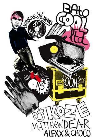 2009-04-10 - DJ Koze, Matthew Dear, Alexx & Choco @ Batofar, Paris -1.jpg