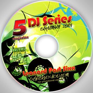 2007-09-01 Leonard Part Sixx - 5 Magazine DJ Series.jpg