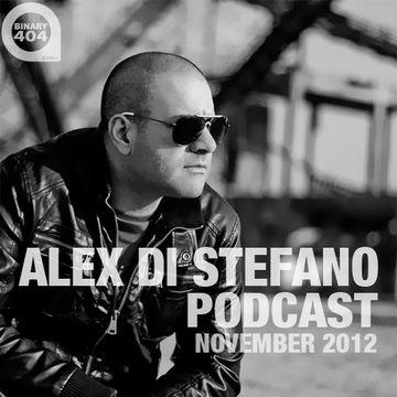 2012-11-18 - Alex Di Stefano - October Podcast.jpg