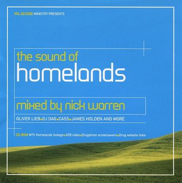 2000-04 - Nick Warren - The Sound Of Homelands - Ministry Mag Cover CD.jpg