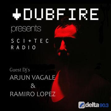 2014-06-04 - Arjun Vagale, Ramiro Lopez - SCI+TEC Radio 013, Delta 90.3 FM.jpg