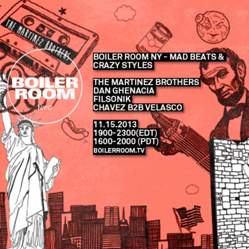 2013-11-15 - Boiler Room NYC - Mad Beats & Crazy Styles.png