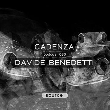 2012-07-25 - Davide Benedetti - Cadenza Podcast 030 - Source.jpg