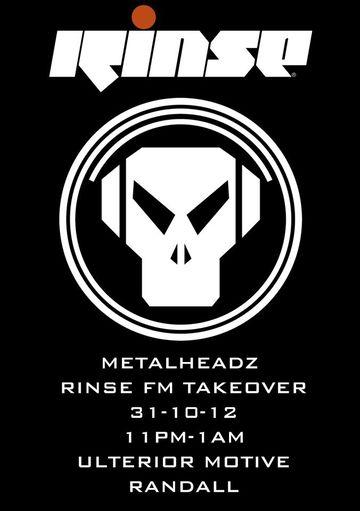 2012-10-31 - Metalheadz Takeover, Rinse FM.jpg