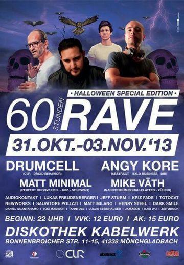 2013 - 60 Stunden Rave - Halloween Special Edition, Diskothek Kabelwerk - 2.jpg