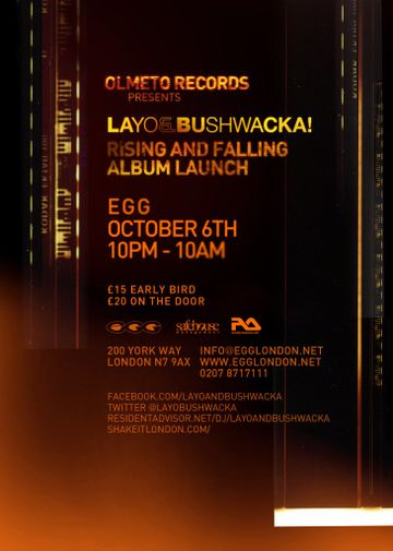 2012-10-06 - Olmeto Presents Layo & Bushwacka! Rising And Falling Album Launch, Egg -1.jpg