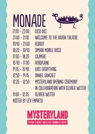 2012-08-25 - Mysteryland, Monade, Timetable.jpg
