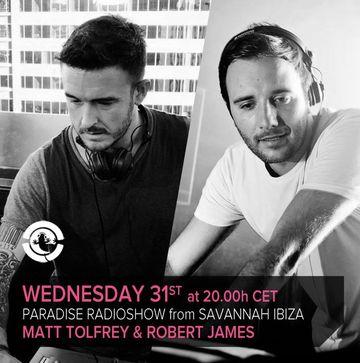 2013-07-31 - Matt Tolfrey & Robert James - Paradise Radio Show.jpg