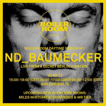 2013-07-02 - nd baumecker @ Boiler Room Daytime Berlin 001.jpg