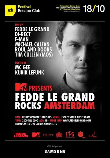 2013-10-18 - MTV Presents Fedde Le Grand Rocks, Escape.jpg