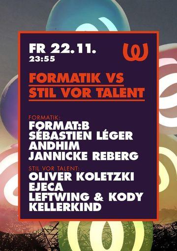 2013-11-22 - Formatik vs Stil vor Talent, Watergate.jpg
