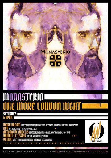 2013-04-06 - One More London Night, Monasterio.jpg