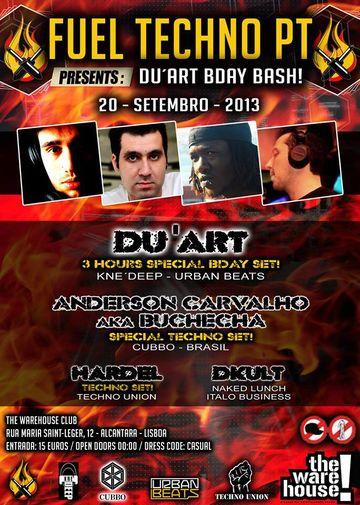 2013-09-20 - Fuel Techno Pt Presents Du'ArT Bday Bash, The Warehouse -1.jpg