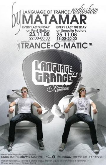 2008-11-23 - Matamar, Trance-O-Matic - Language Of Trance.jpg