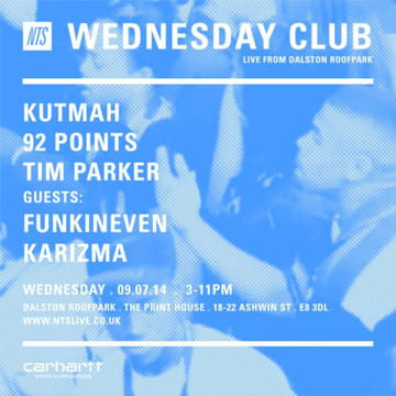 2014-07-09 - NTS Wednesday Club, Dalston Roof Park.png