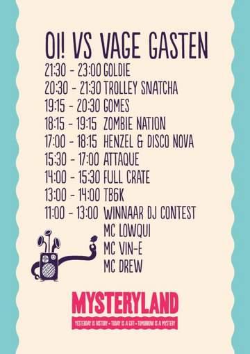2012-08-25 - Mysteryland, Oi! vs Vage Gasten, Timetable.jpg