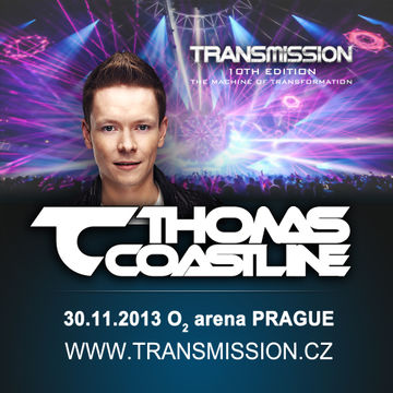2013-11-30 - Thomas Coastline @ Transmission - The Machine Of Transformation, O2 Arena.jpg