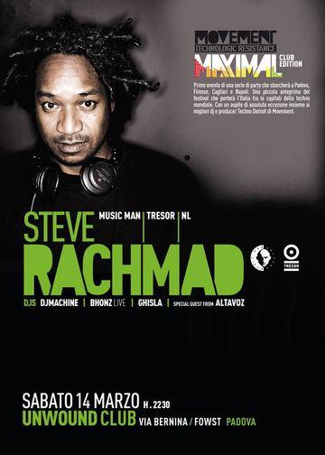 2009-03-14 - Steve Rachmad @ Unwound Club, Padova, Italy.jpg