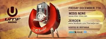 2012-12-07 - Miss Nine, Jeroen - UMF Radio -1.jpg