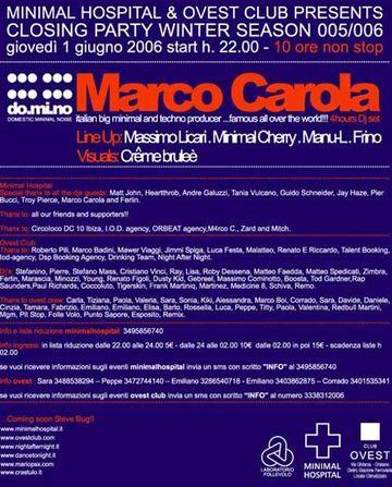 2006-06-01 - Marco Carola @ Ovest Club, Italy.jpg