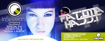 2013-12-13 - Fatima Hajji - In Sessions, Maxima FM.jpg