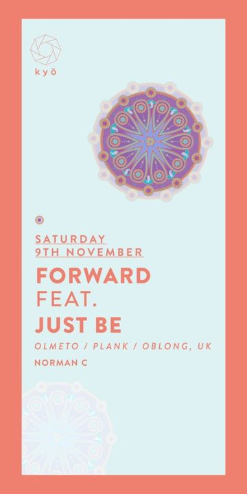 2013-11-09 - Forward Feat. Just Be, kyō.jpg