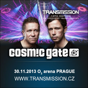 2013-11-30 - Cosmic Gate @ Transmission - The Machine Of Transformation, O2 Arena.jpg