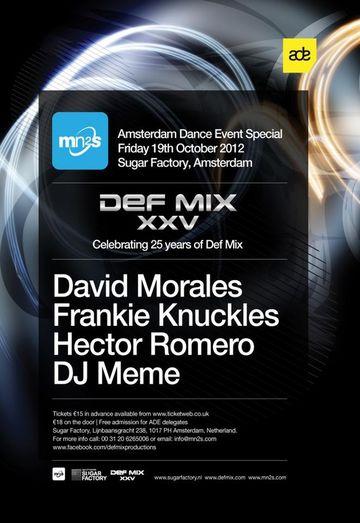 2012-10-19 - Def Mix XXV - Celebrating 25 Yeatrs Of Def Mix, Sugar Factory, ADE.jpg