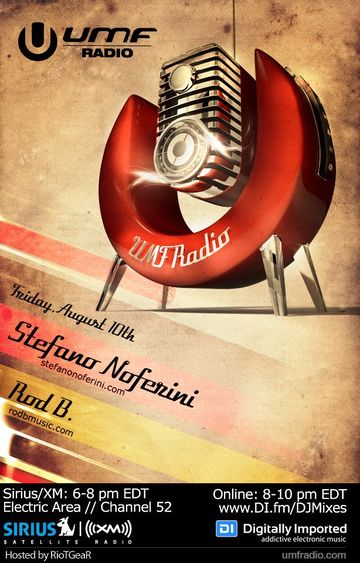 2012-08-10 - Stefano Noferini, Rod B. - UMF Radio -2.jpg