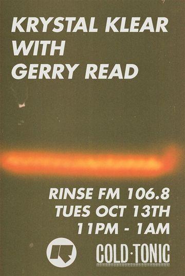 2014-10-14 - Krystal Klear, Gerry Read - Rinse FM.jpg