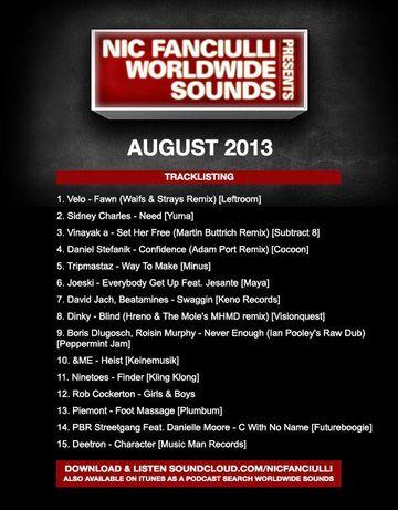 2013-08-05 - Nic Fanciulli - Worldwide Sounds.jpg