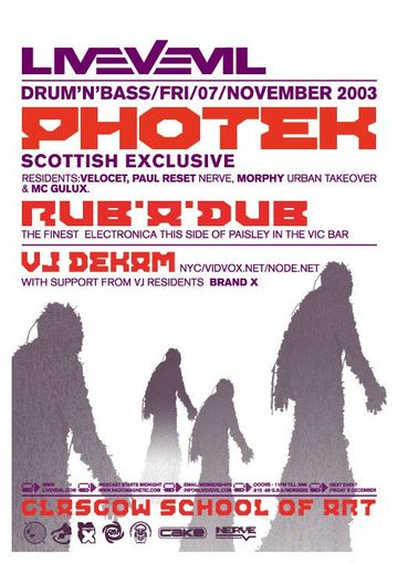 2003-11-07 - LiveVEvil, Glasgow School of Art.jpg