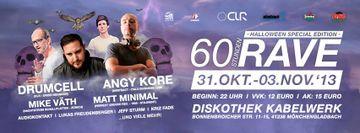2013 - 60 Stunden Rave - Halloween Special Edition, Diskothek Kabelwerk - 1.jpg