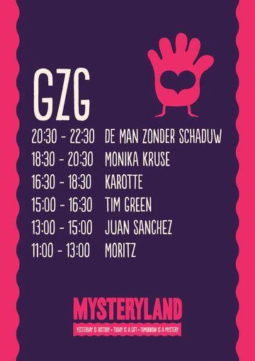 2012-08-25 - Mysteryland, GZG, Timetable.jpg