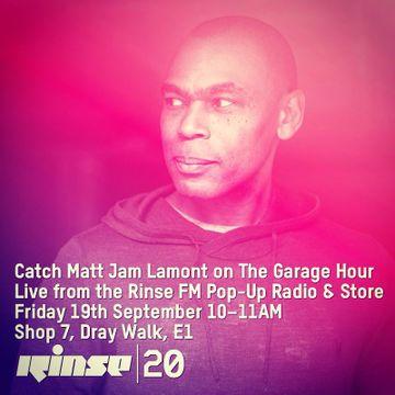 2014-09-19 - Matt Jam Lamont @ Rinse 20, Pop Up Radio & Store.jpg