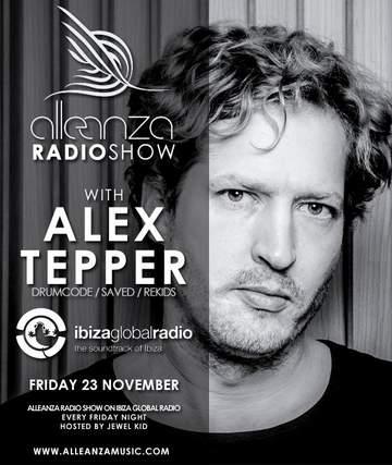 2012-11-23 - Alex Tepper - Alleanza Radio Show 49, Ibiza Global Radio.jpg