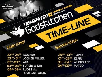2012-12-01 - Godskitchen, Timetable.jpg