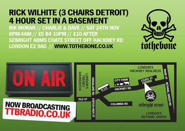 2007-11-24 - Rick Wilhite @ To The Bone, Sebright Arms, London - Back.jpg