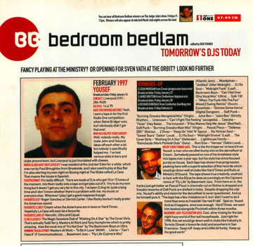 1997 - Yousef - Muzik Bedroom Bedlam Winning Mix.png