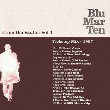 1997 - Blu Mar Ten - From The Vaults Vol.1 - Techstep Mix.jpg