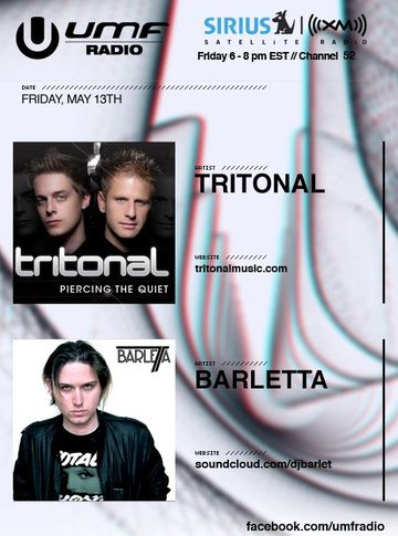 2011-05-13 - Barleta, Tritonal - UMF Radio 106.jpg