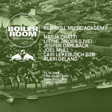 2013-10-31 Red Bull Music Academy, Boiler Room, Stockholm.jpg
