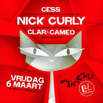 2009-03-06 - Nick Curly, Cess, Clar, Cameo @ Café d'Anvers, Antwerp.jpg