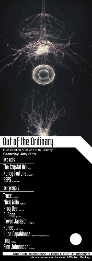 2011-07-30 - Out Of The Ordinary, Tape Club.jpg