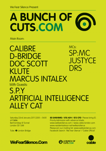 2011-01-22 - We Fear Silence presents A Bunch Of Cuts, Cable, London-2.png