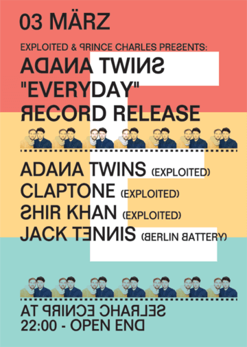 2012-03-03 - Exploited & PC pres. Adana Twins 'Everyday' Record Release Party, Prince Charles.png